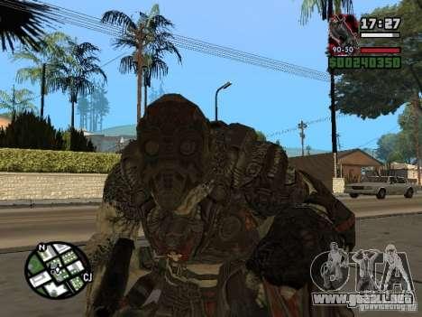 Lokast Grunt de Gears of War 2 para GTA San Andreas segunda pantalla