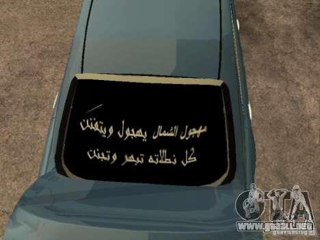 Toyota Camry 2009 para visión interna GTA San Andreas