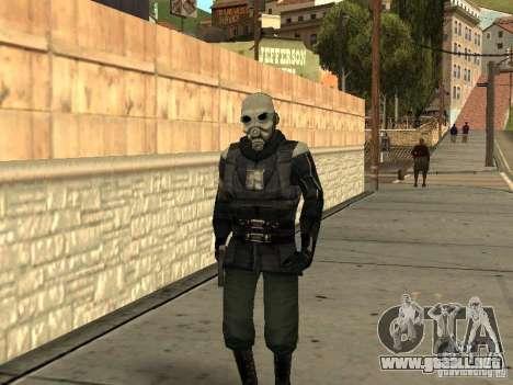Cops from Half-life 2 para GTA San Andreas segunda pantalla