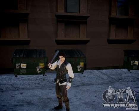 Assasins Creed 2 Young Ezio para GTA 4 octavo de pantalla