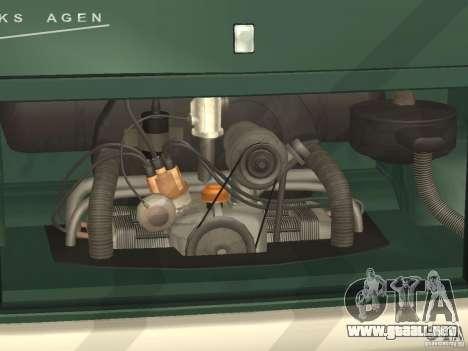 Volkswagen Transporter T1 Camper para visión interna GTA San Andreas