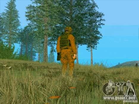 Barro Camo Morpeh para GTA San Andreas tercera pantalla
