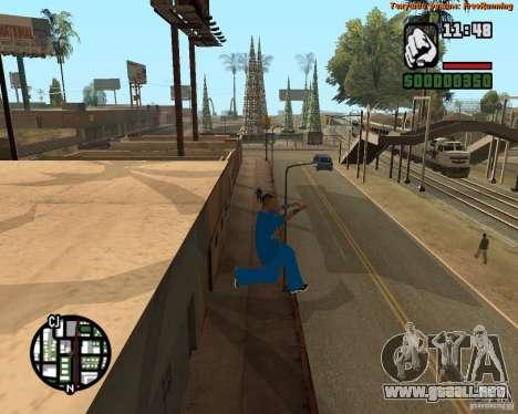 Piel Tracer para GTA San Andreas tercera pantalla