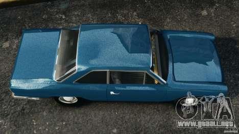 Renault Torino 380 W para GTA 4 visión correcta