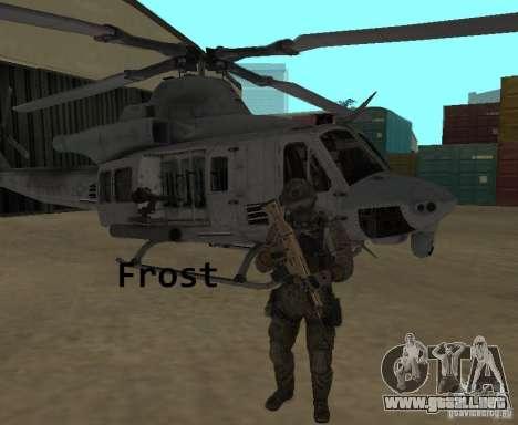Frost and Sandman para GTA San Andreas segunda pantalla