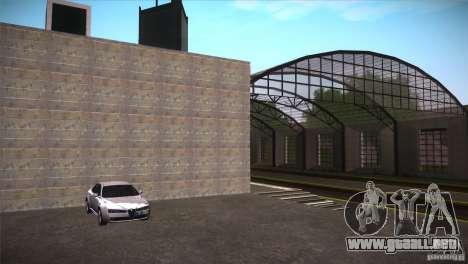 San Fierro Upgrade para GTA San Andreas sucesivamente de pantalla