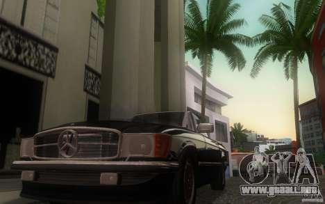 Mercedes-Benz 350 SL Roadster para visión interna GTA San Andreas