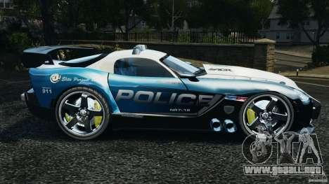 Dodge Viper SRT-10 ACR ELITE POLICE [ELS] para GTA 4 left