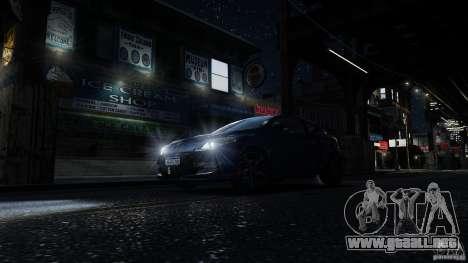 Renault Megane RS 250 para GTA 4 interior