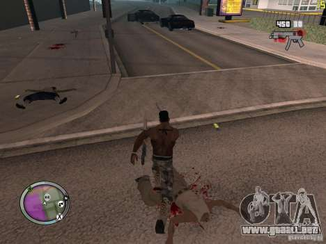 Nueva zona GANGSTER para GTA San Andreas décimo de pantalla