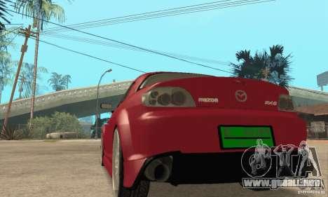 Encendido y apagado del motor y los faros para GTA San Andreas quinta pantalla