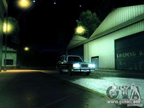 ENBSeries by muSHa para GTA San Andreas quinta pantalla