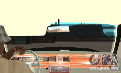 Ford LTD Crown Victoria 1985 MIB para la visión correcta GTA San Andreas