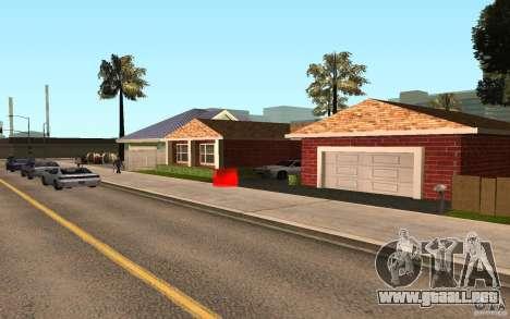 Nuevas texturas Inicio Millie para GTA San Andreas tercera pantalla