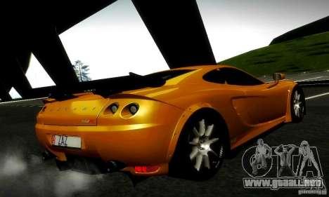 Ascari KZ1R Limited Edition para visión interna GTA San Andreas