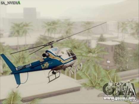 SA_Nvidia Beta para GTA San Andreas tercera pantalla