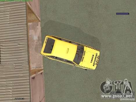 AZLK Moskvich 2141 Taxi v2 para las ruedas de GTA San Andreas