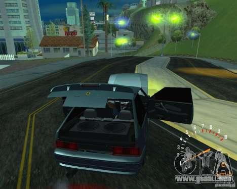 Ferarri 2113 VAZ para GTA San Andreas vista posterior izquierda