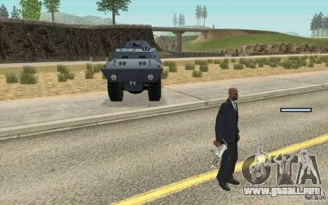 Guardia de BTR para GTA San Andreas segunda pantalla