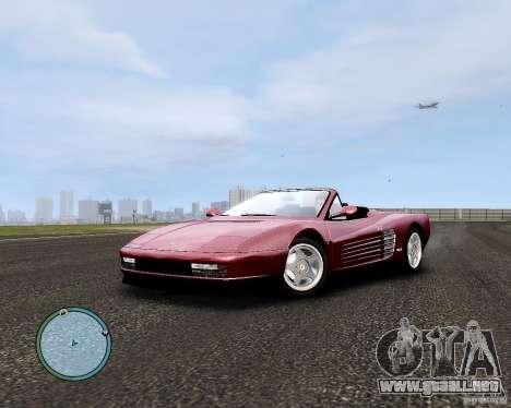 Ferrari Testarossa para GTA 4