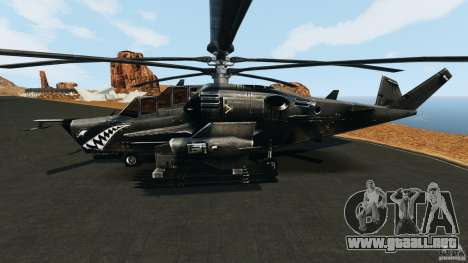 KA-50 Black Shark Modified para GTA 4 left