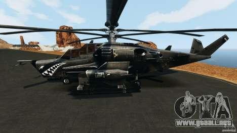 KA-50 Black Shark Modified para GTA 4 left