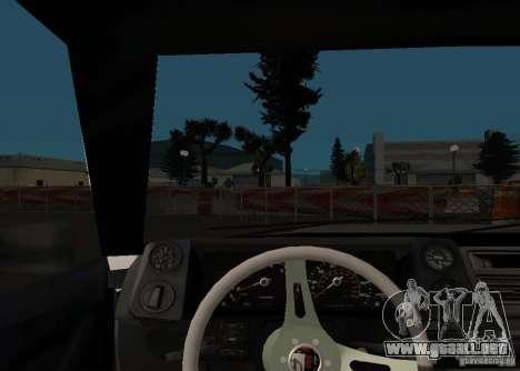 Elegy MIX v2 para GTA San Andreas vista hacia atrás