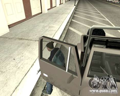 Cubierta del sistema para GTA San Andreas octavo de pantalla