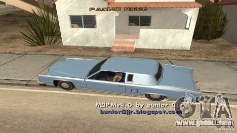Music car v4 para GTA San Andreas segunda pantalla