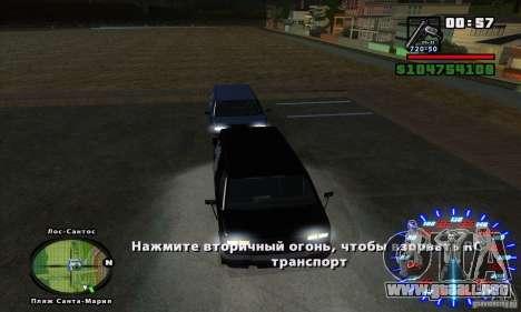RC mod para GTA San Andreas quinta pantalla