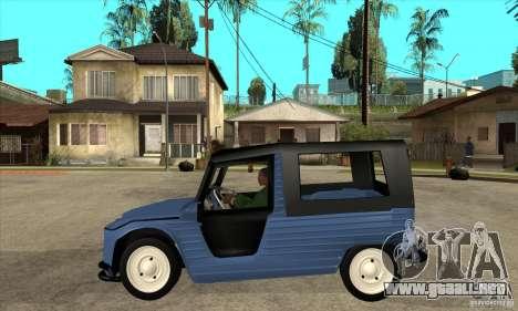 Citroen Mehari para GTA San Andreas left