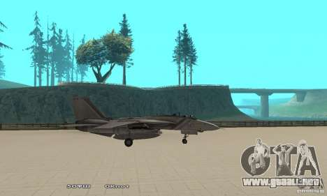 F14W Super Weirdest Tomcat Skin 1 para GTA San Andreas left