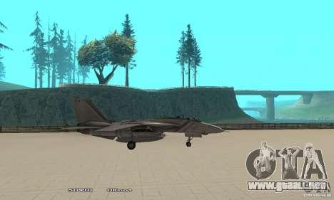 F14W Super Weirdest Tomcat Skin 1 para GTA San Andreas left