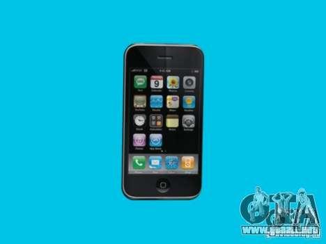 Iphone para GTA San Andreas sucesivamente de pantalla