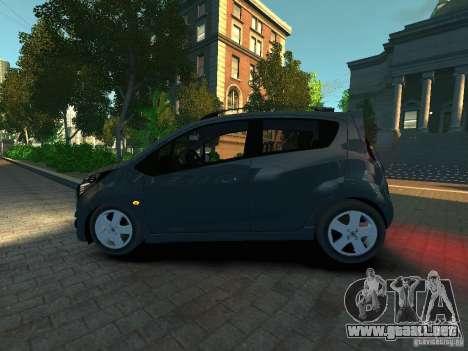 Chevrolet Spark para GTA 4 left