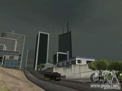 Weather manager para GTA San Andreas segunda pantalla