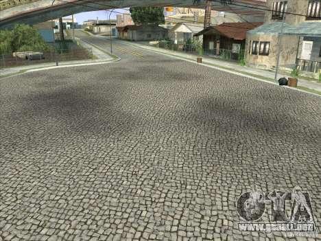 Grove Street Retextured para GTA San Andreas octavo de pantalla