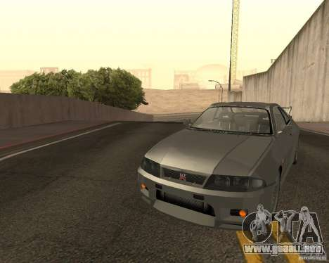Nissan Skyline GT-R R-33 para vista inferior GTA San Andreas