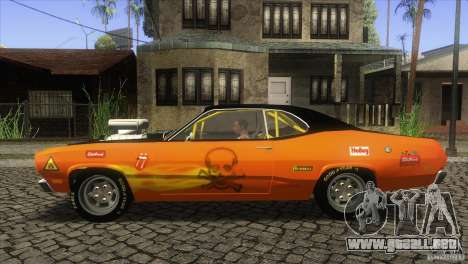 Plymouth Duster 440 para GTA San Andreas left