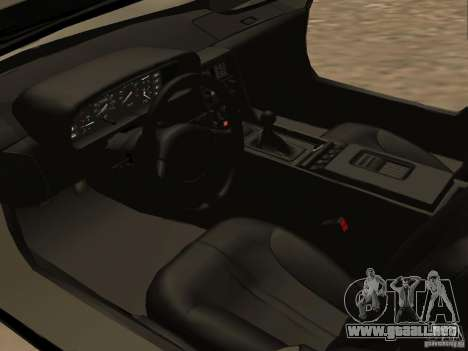 DeLorean DMC-12 para vista lateral GTA San Andreas