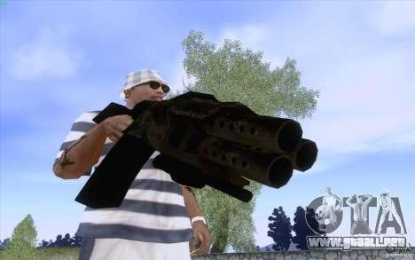 Brazos de F.E.A.R. para GTA San Andreas quinta pantalla