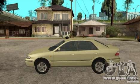 MAZDA 626 GF Sedan para GTA San Andreas left