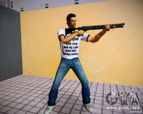 Pak de GTA 4 el Lost and Damned para GTA Vice City segunda pantalla