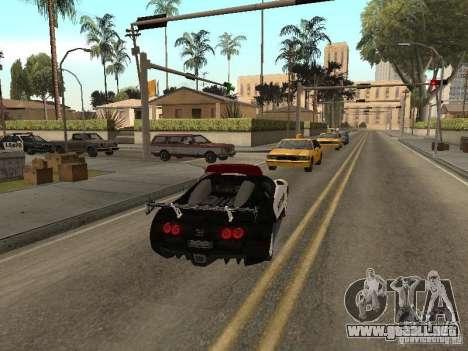 Bugatti Veyron Police para la visión correcta GTA San Andreas