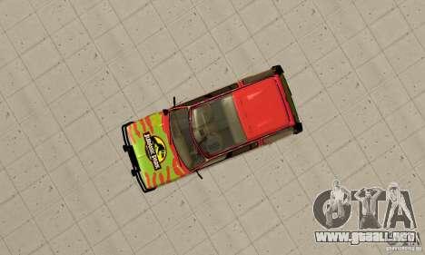 Ford Explorer (Jurassic Park) para la visión correcta GTA San Andreas