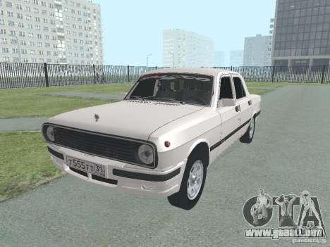 Volga GAZ-24 105 para GTA San Andreas