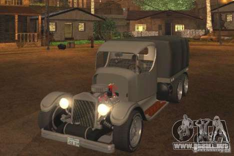 Ford Model-T Truck 1927 para GTA San Andreas left