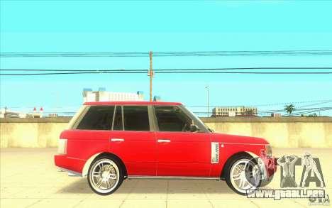 Arfy Wheel Pack 2 para GTA San Andreas sucesivamente de pantalla