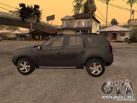 Dacia Duster para la visión correcta GTA San Andreas