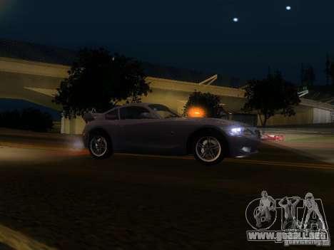 BMW Z4 M 07 para GTA San Andreas left